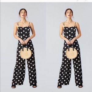 Forever 21 polka dot jump suit
